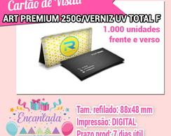 ... Cartões De Visita Art Premium 250g Verniz Uv Total F c17f1b9adcd