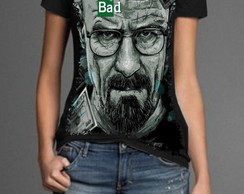 Camiseta Feminina - Breaking Bad - | S-32