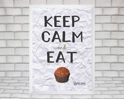 Quadro Keep Calm and Eat