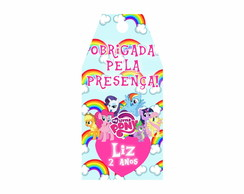 TAG lembrancinha My Little Pony