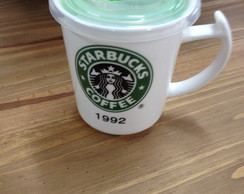 Xicara com tampa Coffee Starbucks