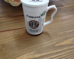 Caneca com tampa Coffee Starbucks