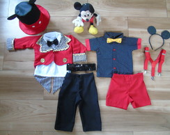 Fantasia Mickey SUPER LUXO 2 Looks
