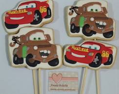 Bolacha Decorada Carros