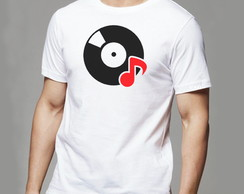 Camiseta Disco vinil DJ music