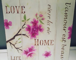 Pallet Cerejeira Home Love