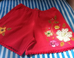 Short bordado adulto G ( 44 )