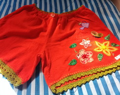 Short bordado adulto G ( 45 )