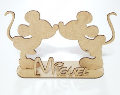 Kit 10 Centro de mesa Minnie ou Mickey MDF
