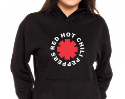 Moletom Canguru Feminino Red Hot Chili Peppers