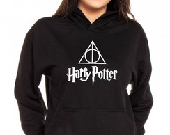 Moletom Canguru Feminino Harry Potter