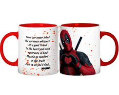 Caneca Deadpool Love
