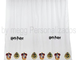 Cortina Personalizada Harry Potter medida 4,40 x 2,70 cm