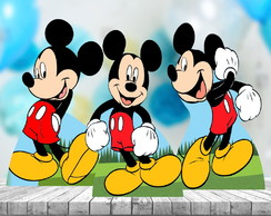 Kit Tres Centro de Mesa Mickey Mouse