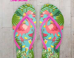 Chinelo Infantil Pool Party Flamingo