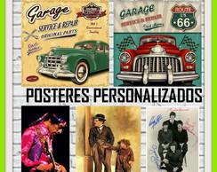 Posters Personalizados Papel Couché 250 g