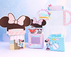 Kit Confeitaria - Minnie Rosa