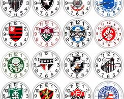 4ef24dcd7d1 Relogio Parede Personalizado com Escudo do Seu Time Futebol