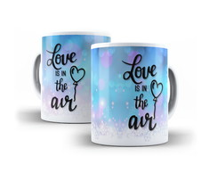 Caneca Love is in the air