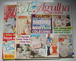 Kit 3 Revistas Agulha de Ouro