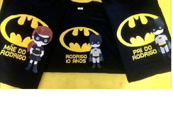 KIT CAMISETAS BATMAN