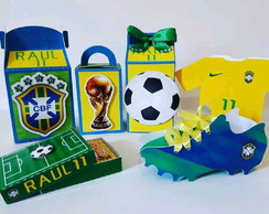 Kit festa Copa do Mundo - BRASIL