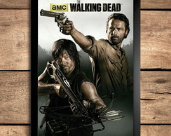 Quadro 30X42cm - The Walking Dead