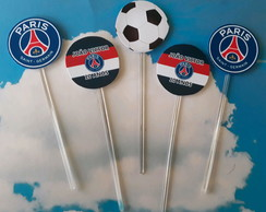 Topper Para Docinhos Paris Saint Germain