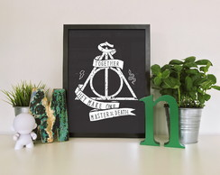 "Quadro ""Harry Potter Together They Make"""