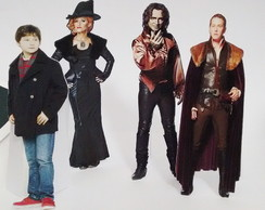 Personagens para mesa de Papel Once Upon a time