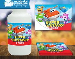 Adesivo Squeeze Super Wings