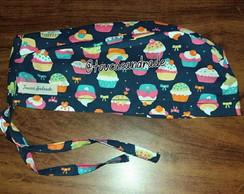 Touca Unissex Cupcake Azul  943c902bde7
