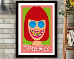 Poster Rita Lee Chiclete Adams