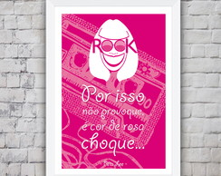 Poster Rita Lee Rosa Choque