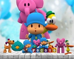 Kit Totem Display Festa Pocoyo