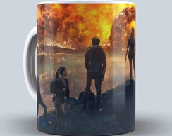 Caneca Porcelana The 100