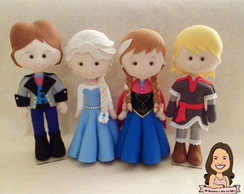 Personagens Frozen Febre Congelante