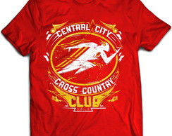 Camiseta Série Flash Central City Cross Country Vermelha 02