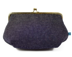Clutch G - jeans
