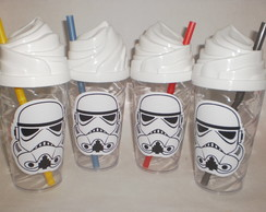 Copo Chantilly c/ Canudo 500ml Star Wars - Stormtroopers
