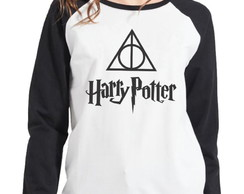 Moletom Raglan Feminino Harry Potter