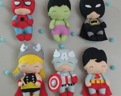 Mini Super Heróis Baby