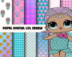 Papel digital LOL Sereia