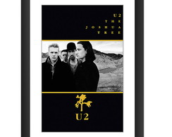 Quadro U2 The Joshua Tree Bono Vox Banda Banda Rock Classico
