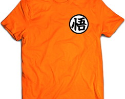 Camiseta Anime Dragon Ball Uniforme Laranja 01