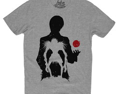 Camiseta Camisa animes Death note kira l Ryuk Light