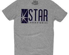 Camiseta Camisa herois the flash star labs barry series