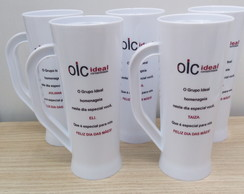 Caneca Long Drink 400ml - Personalizada