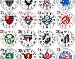 b3059ededc2 ... Relógio parede personalizado esportivo times futebol