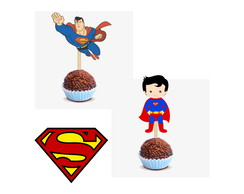 Topper para Docinho do Superman